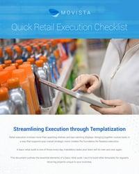 retail execution checklist